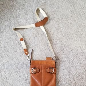Coach Bags - COACH Soho Swing British Tan Crossbody Rare